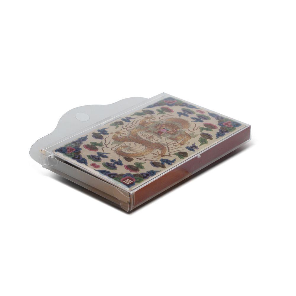 故宮精品 不鏽鋼名片盒 - 大清國書