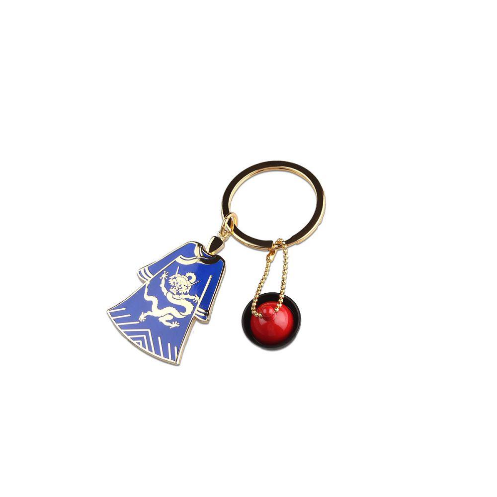 故宮精品|龍袍鎖圈(藍)