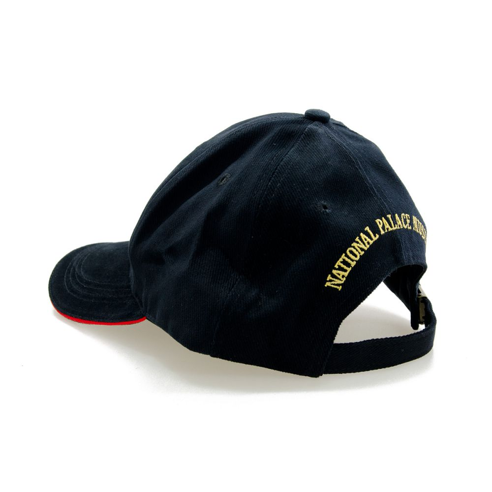故宮精品 故宮院徽球帽 (黑)