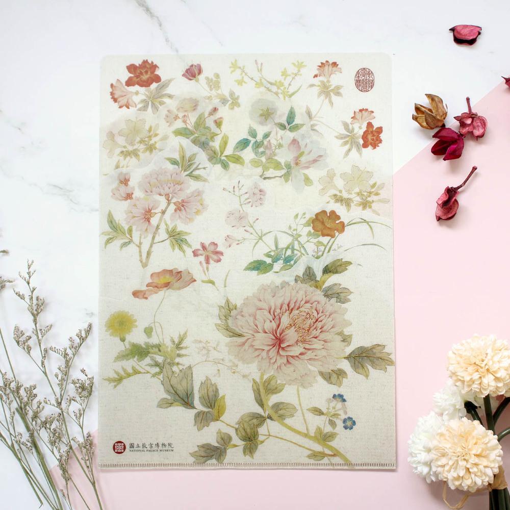 故宮精品 春祺集錦花型袋