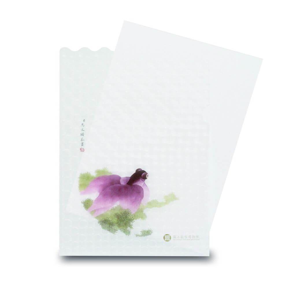 故宮精品|點飾成睛-L夾-雙戀金魚