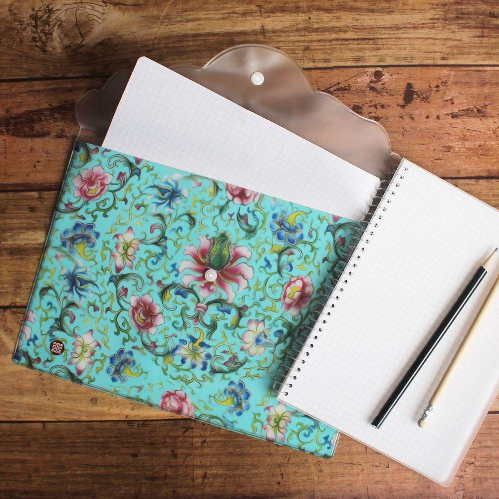 故宮精品|花團錦簇資料袋