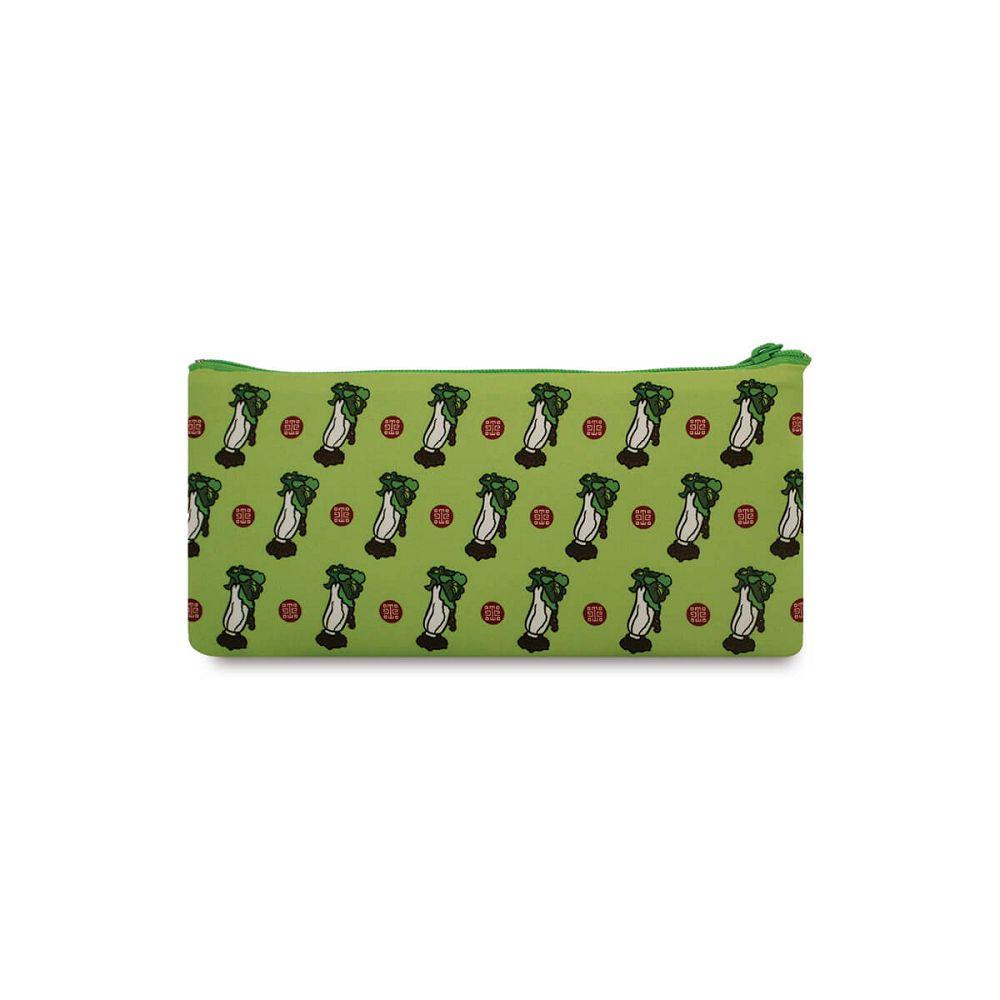 故宮精品|翠玉白菜萬用袋-綠