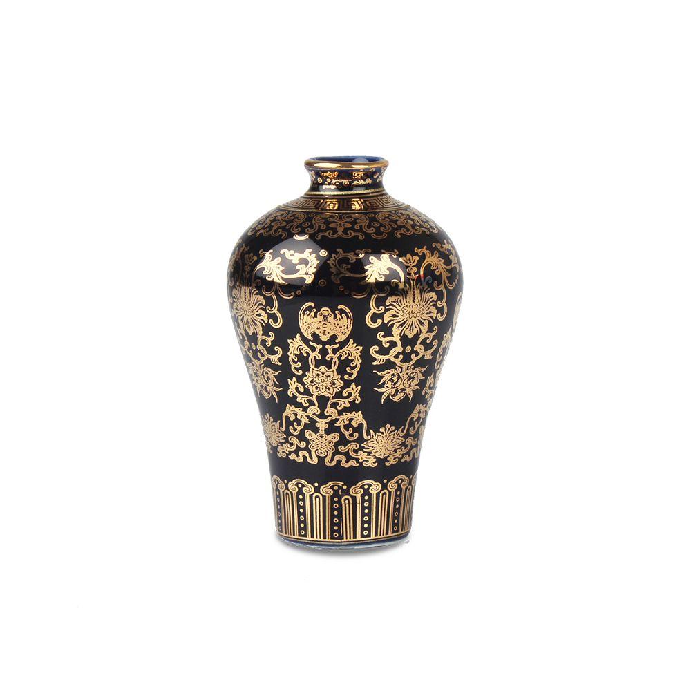 故宮精品|描金福壽梅瓶