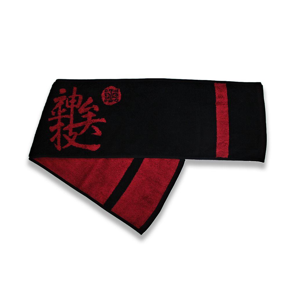 故宮精品|我好神運動毛巾-朱紅色