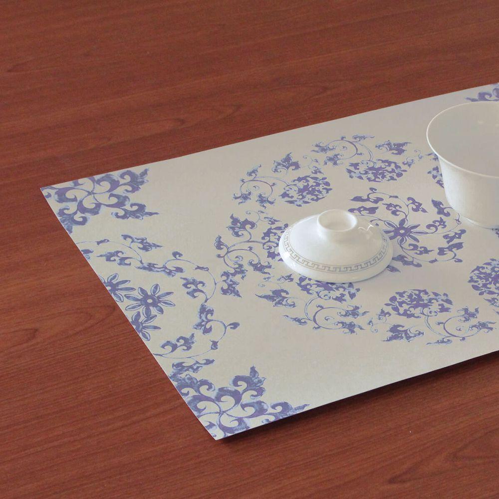 故宮精品|青花蓮紙餐墊(10入)