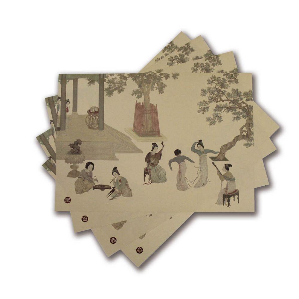 故宮精品|漢宮春曉紙餐墊(10入)