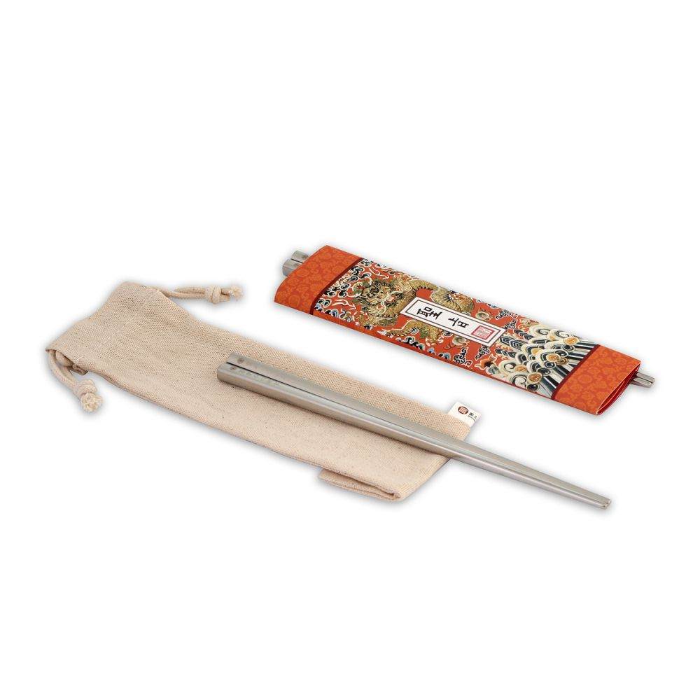 故宮精品|筷筷接旨 聖旨B 雙筷組