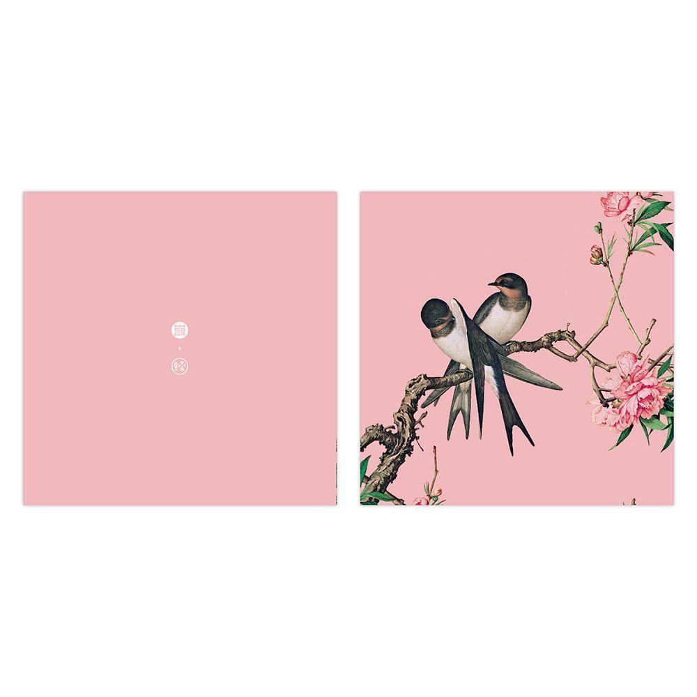 故宮精品 仙萼長春·桃花 萬用卡