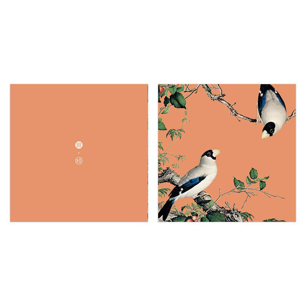 故宮精品|仙萼長春·櫻桃桑鳲 萬用卡