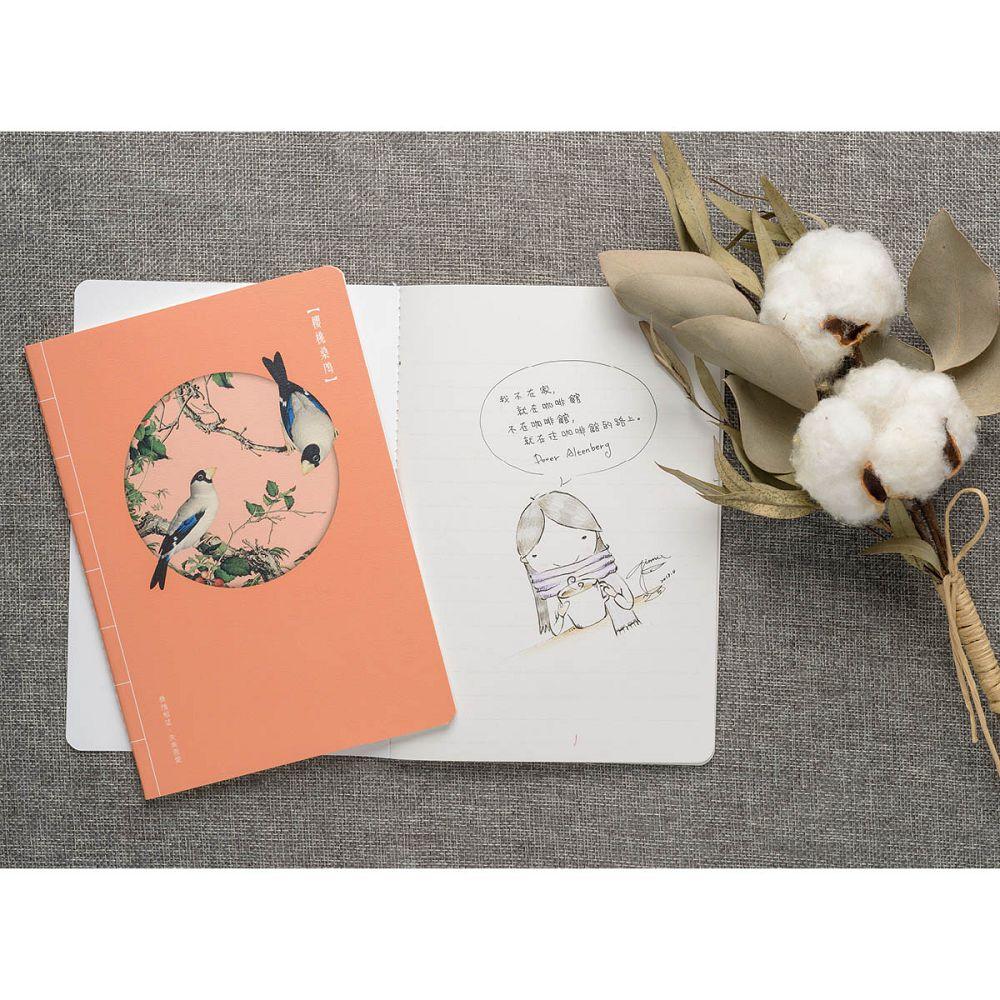 故宮精品|仙萼長春·櫻桃桑鳲 萬用手札