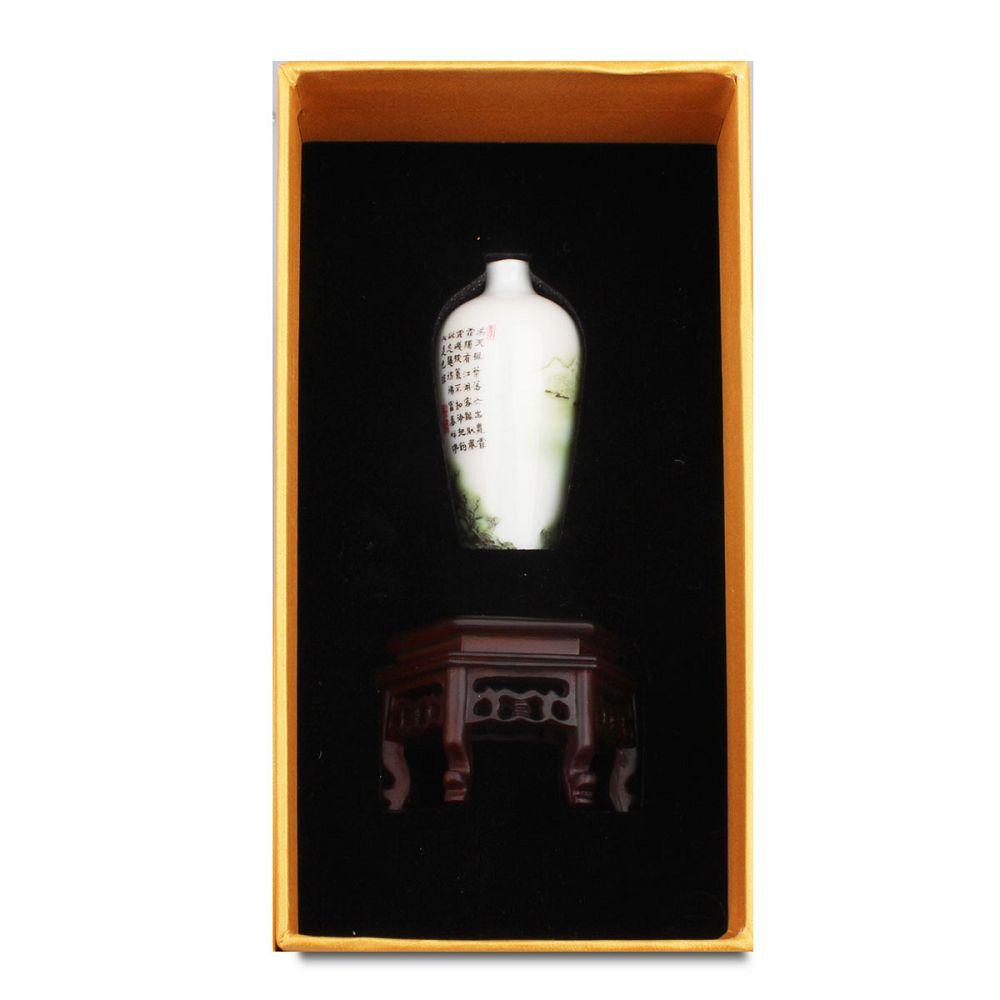 故宮精品 迷你瓷器 - 山水梅瓶