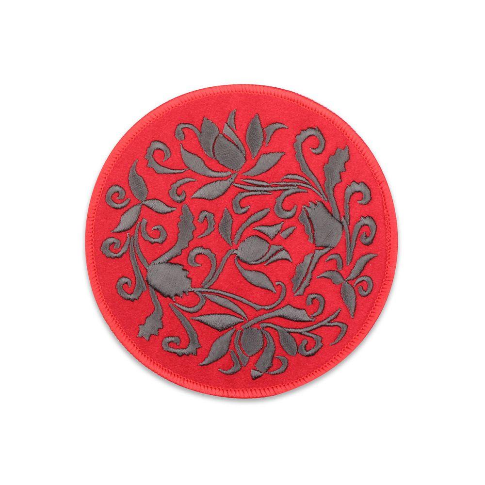故宮精品|蓮瓣劃花盤杯墊-紅