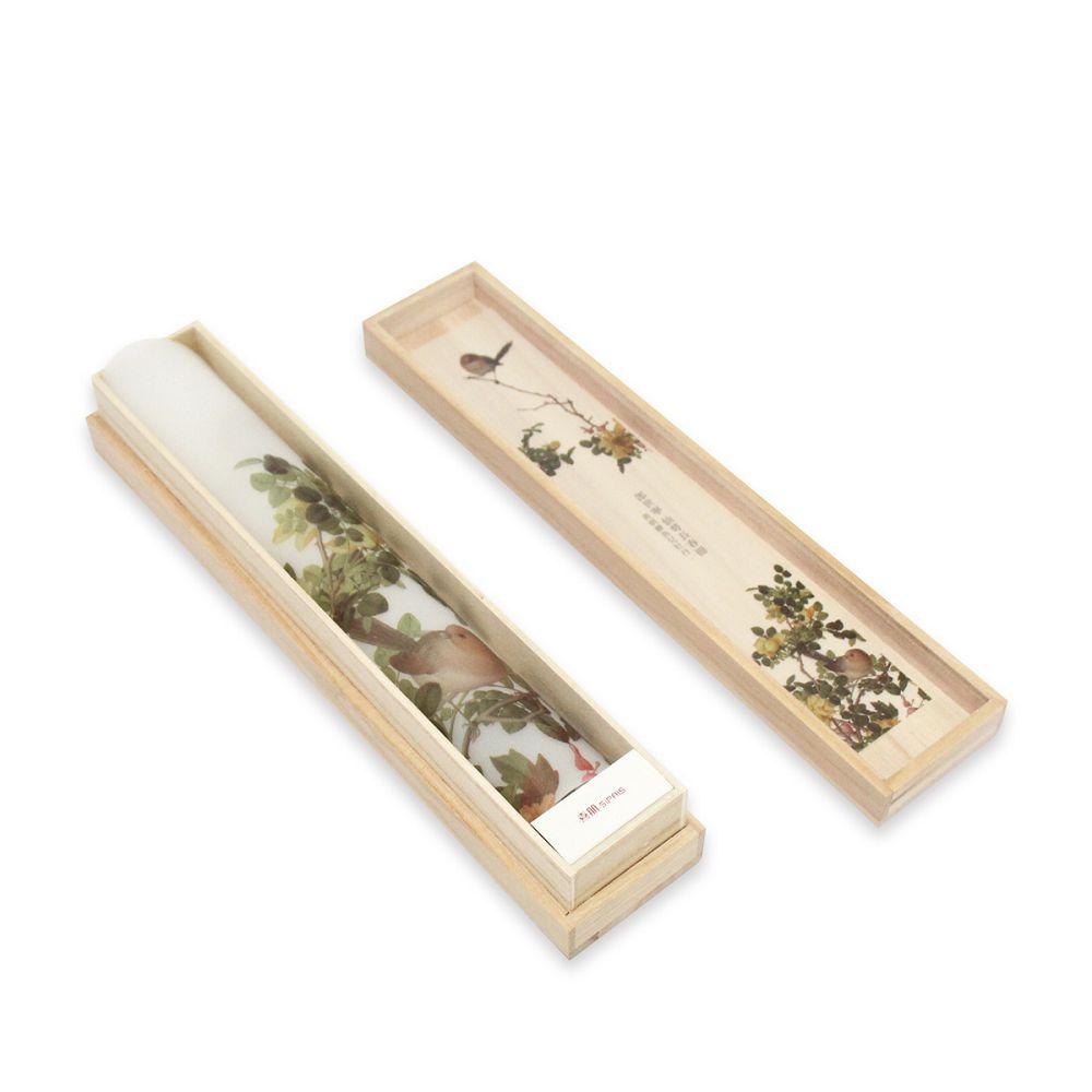 故宮精品 | 仙萼長春冊餐墊禮盒-黃刺蘼魚兒牡丹