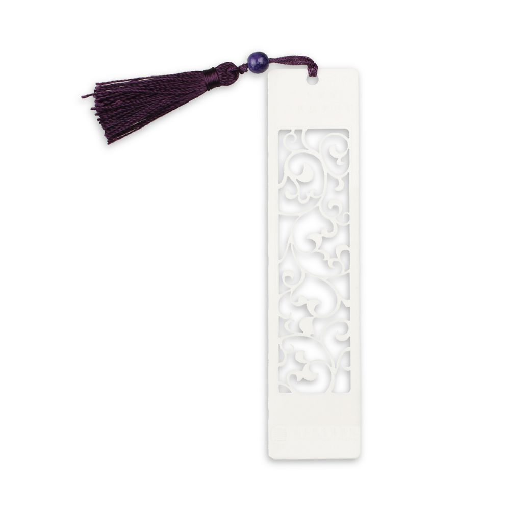 故宮精品 | 青花紋造型書籤 (白)