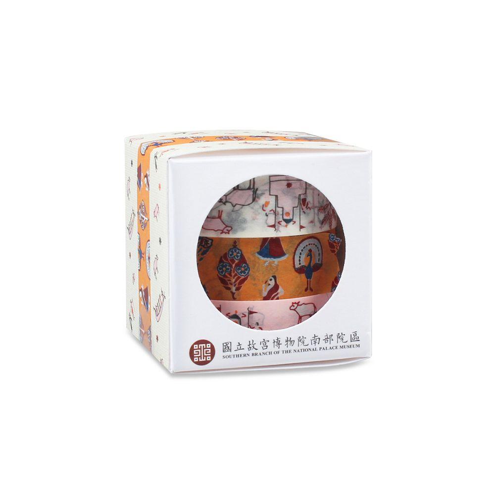 故宮精品 | 印度刺繡紙膠帶