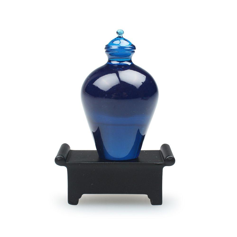 故宮精品 | 藍色玻璃鼻煙壺磁鐵