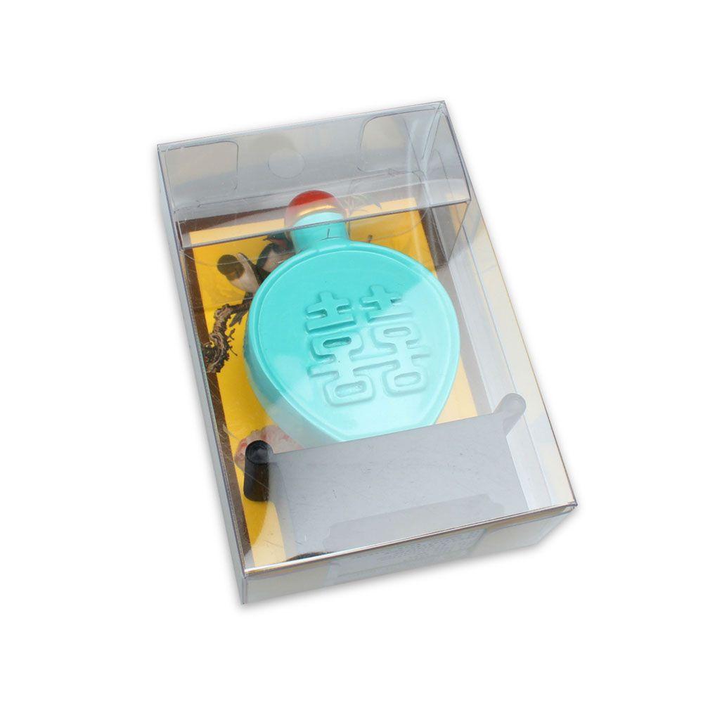 故宮精品 | 雙喜綠釉鼻煙壺磁鐵