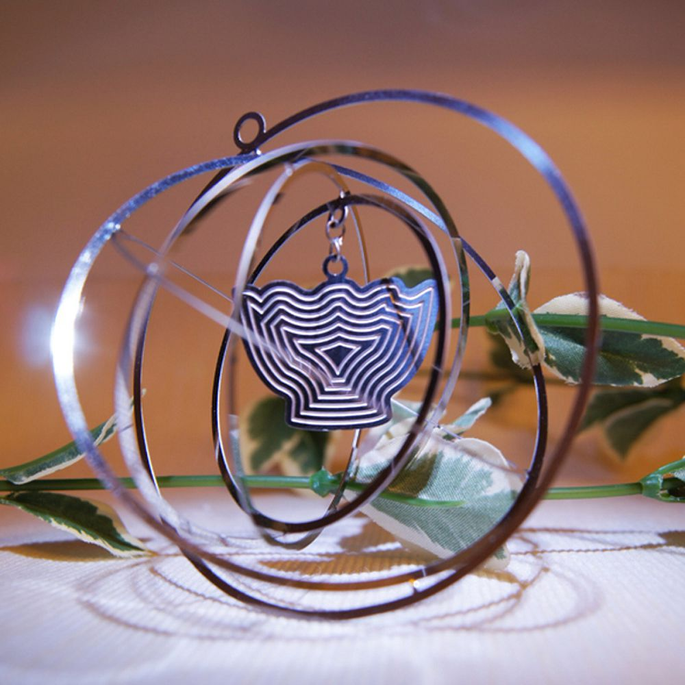故宮精品 | 3D書籤掛飾 蓮花式溫碗