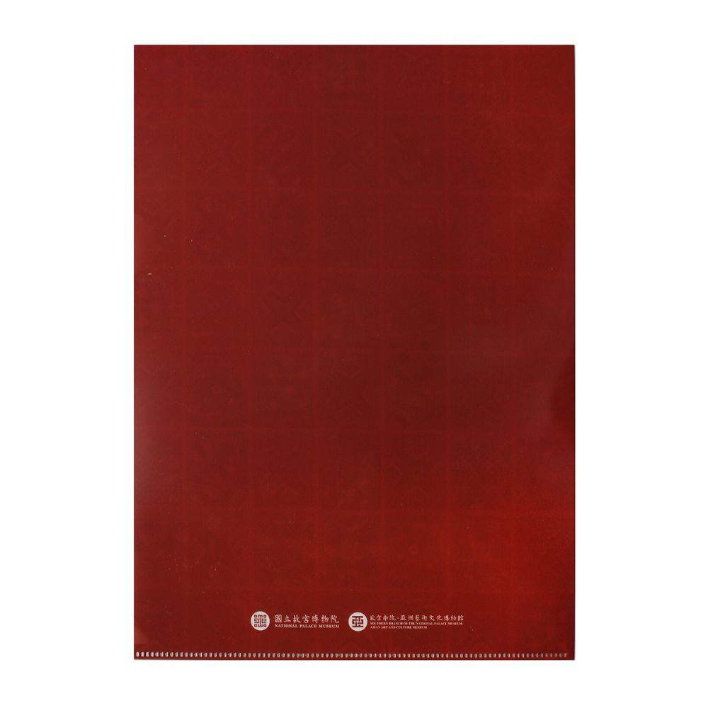 故宮精品 | 刺繡方巾文件夾