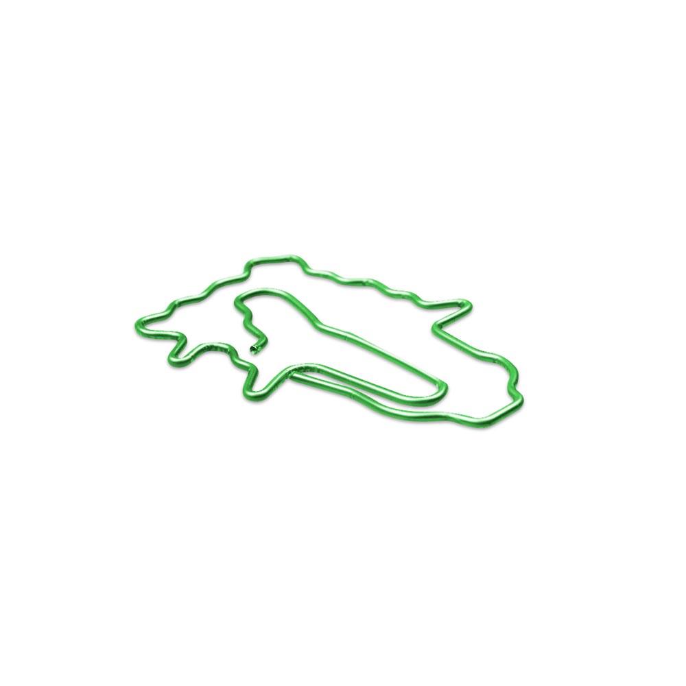 故宮精品 | 翠玉白菜迴紋針-翠綠