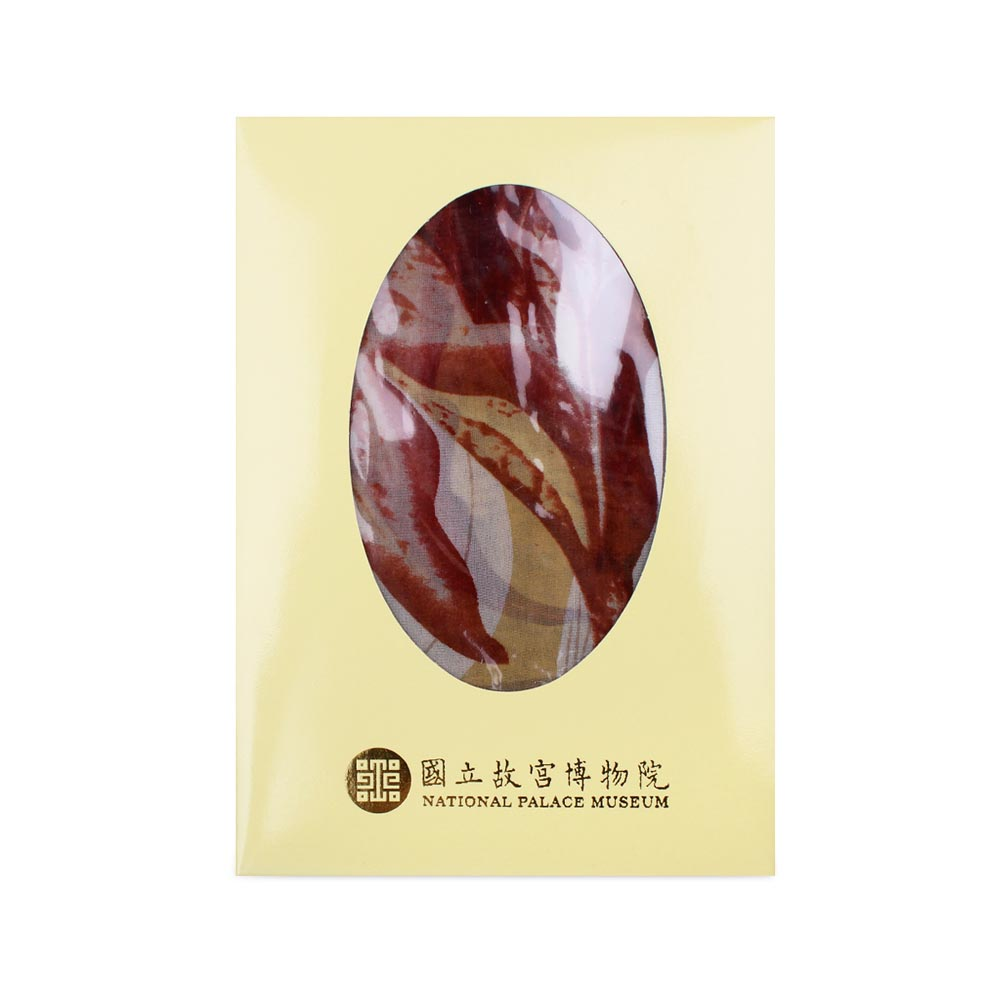 故宮精品 | 白玉簪絲巾紗 (秋香綠)