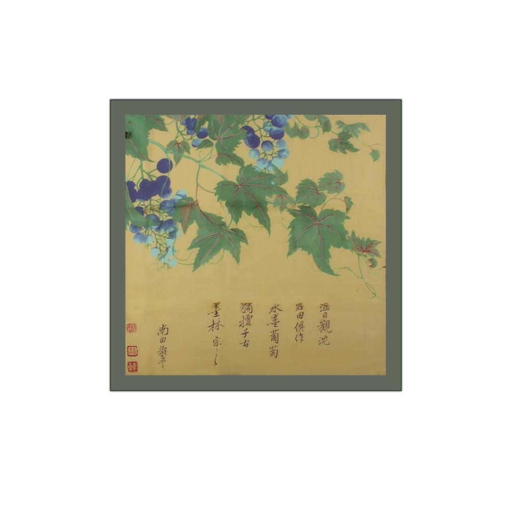 故宮精品 | 垂蔓葡萄絲巾