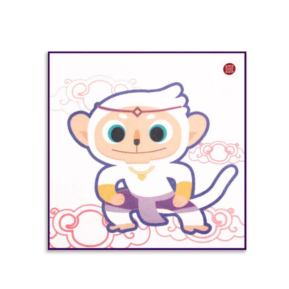 故宮精品   七彩哈奴曼兒童方巾