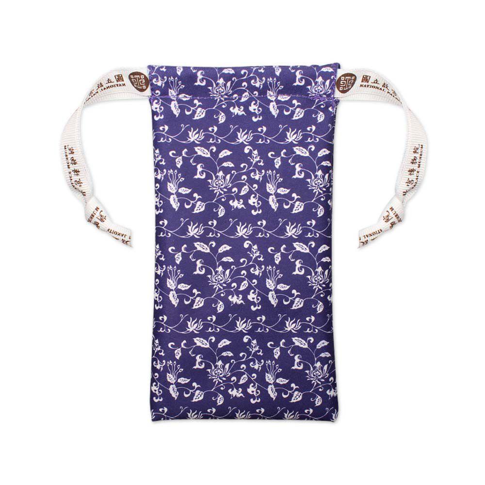 故宮精品 | 青花拭鏡束口袋藍