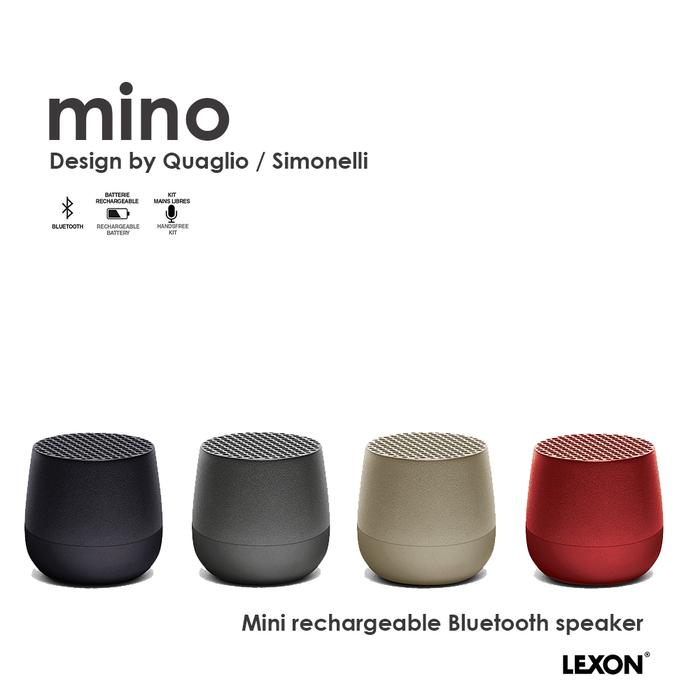 LEXON|MINO 袖珍藍芽喇叭(四色任選)