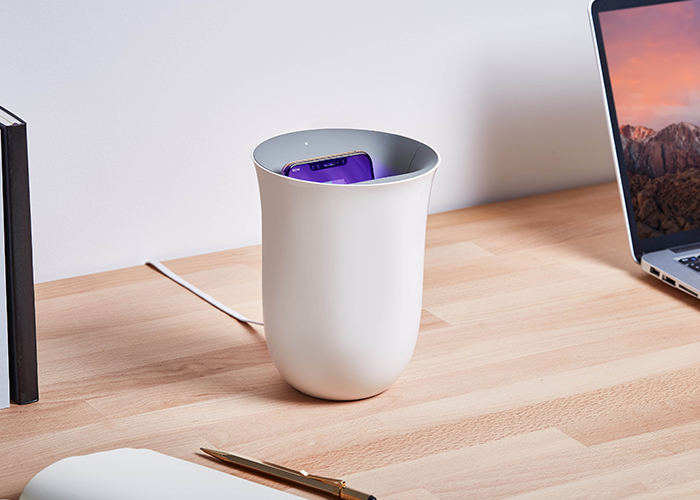 LEXON|法國 Oblio / UV滅菌Qi無線充電座
