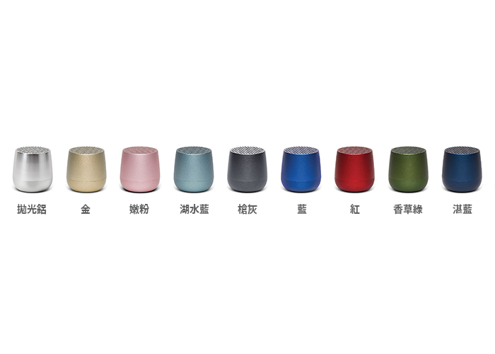 Mino+袖珍藍芽喇叭-Qi無線充電版