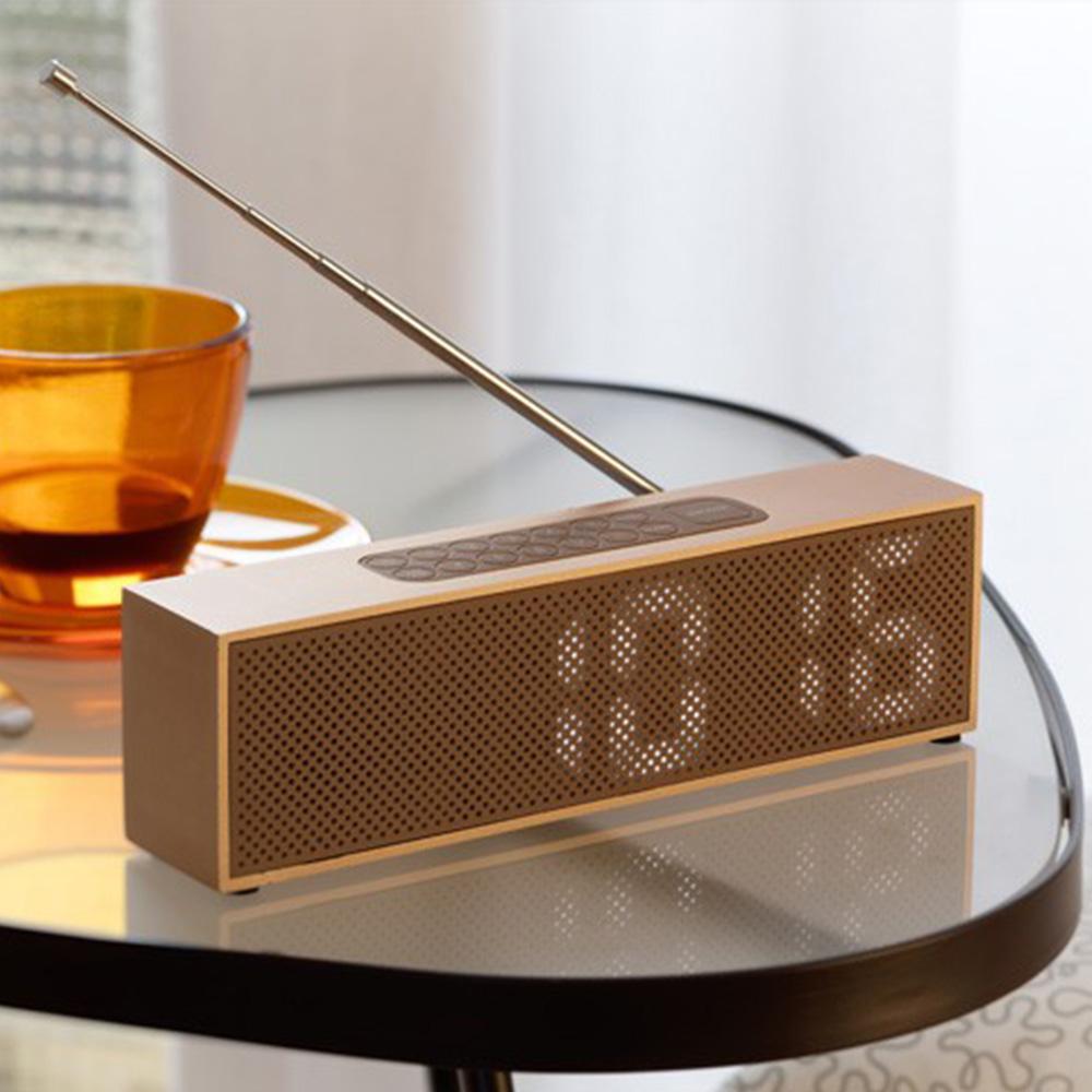 LEXON|TITANIUM時鐘+收音機