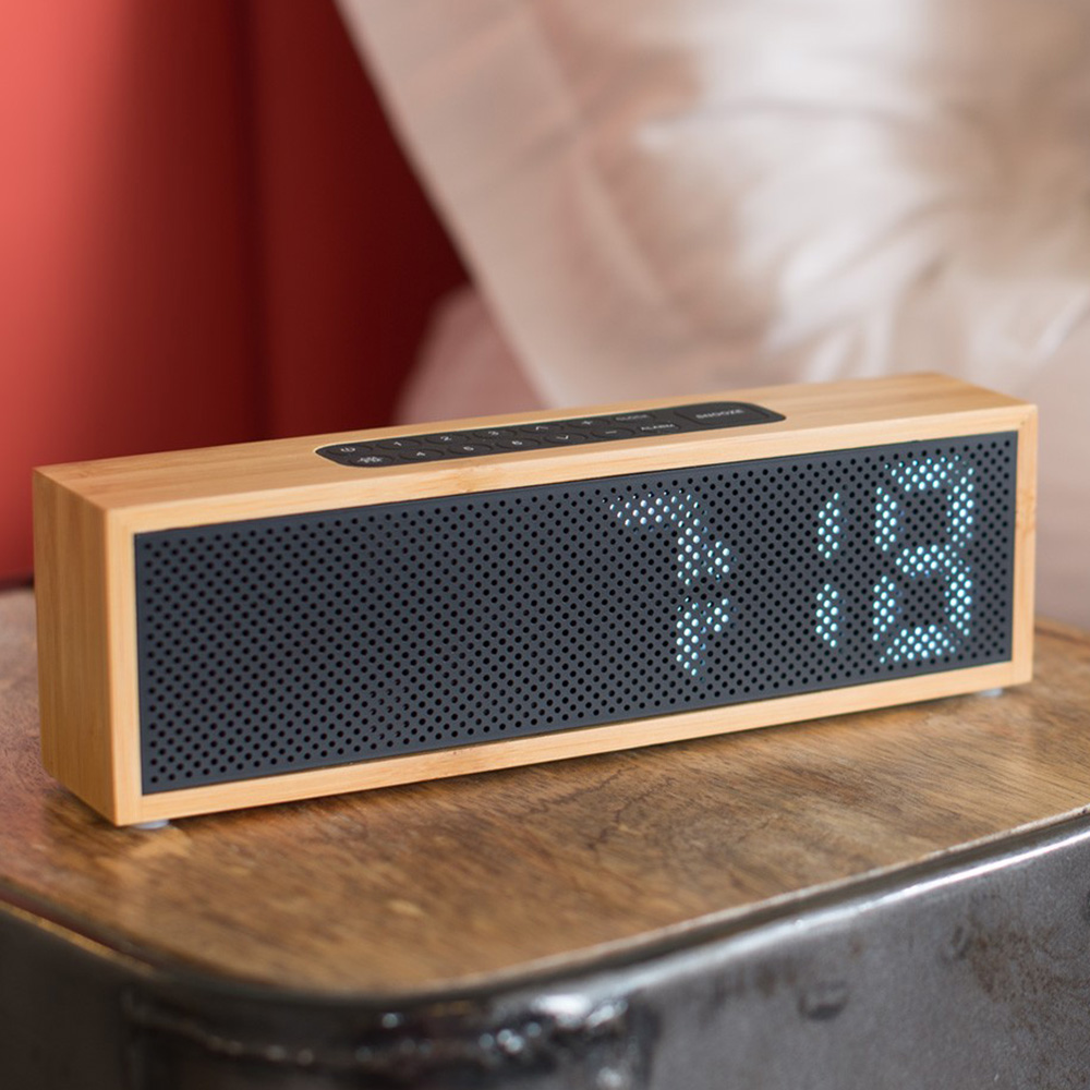 LEXON TITANIUM時鐘+收音機