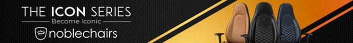 (複製)noblechairs|皇家EPIC系列電競賽車椅-PU經典款-黑