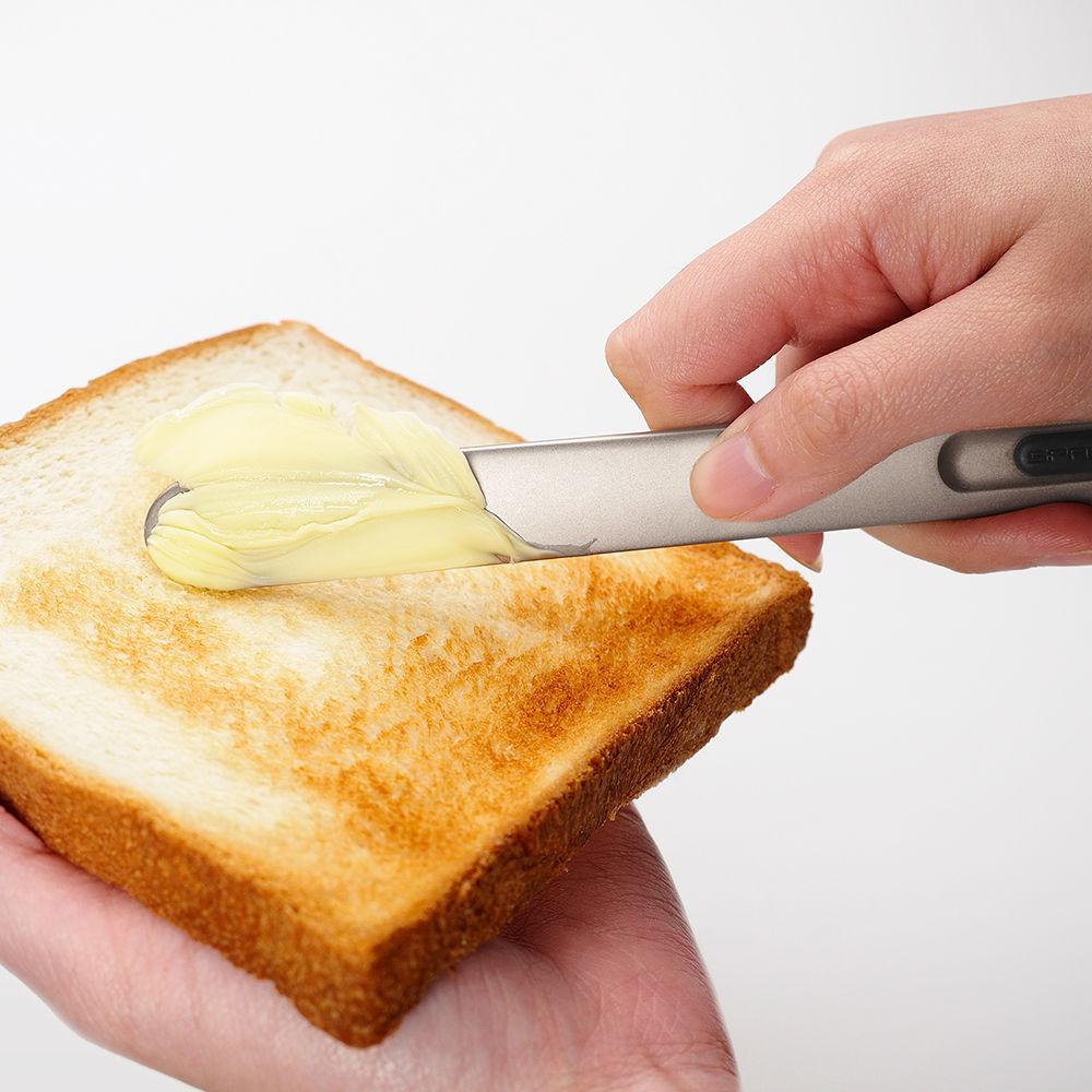 奇想THAT!|奶油刀-經典款(鈦黑紅logo)