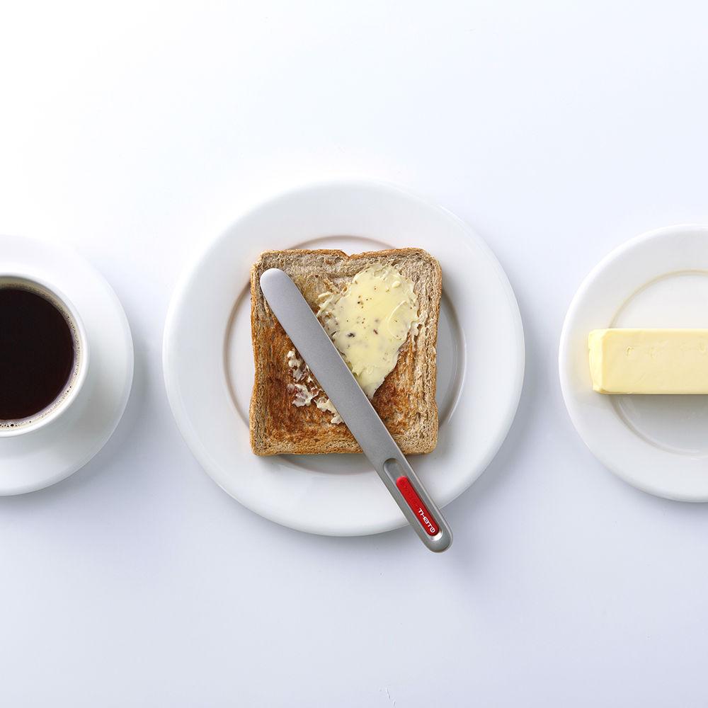 奇想THAT! 奶油刀-經典款(鈦銀紅logo)