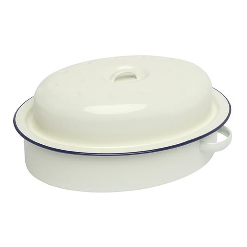 Wiltshire |澳洲ENAMEL手工圓形烤盤-3000ml-藍