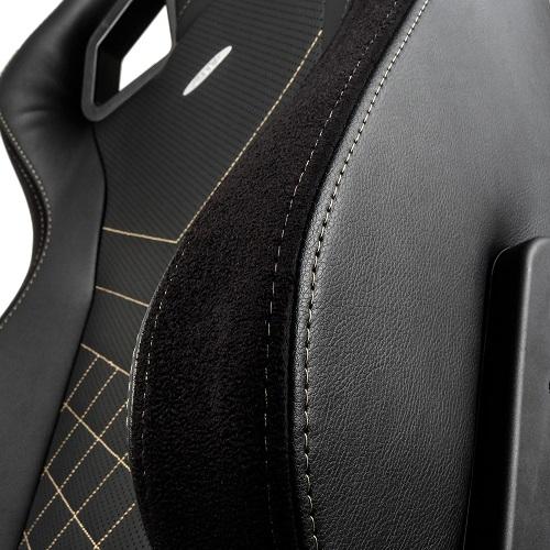 noblechairs|皇家EPIC系列電競賽車椅-PU經典款-黑/金