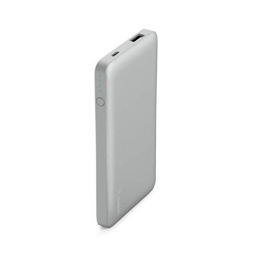 Belkin |Pocket Power 5K 超薄快充行動電源 (科技銀)