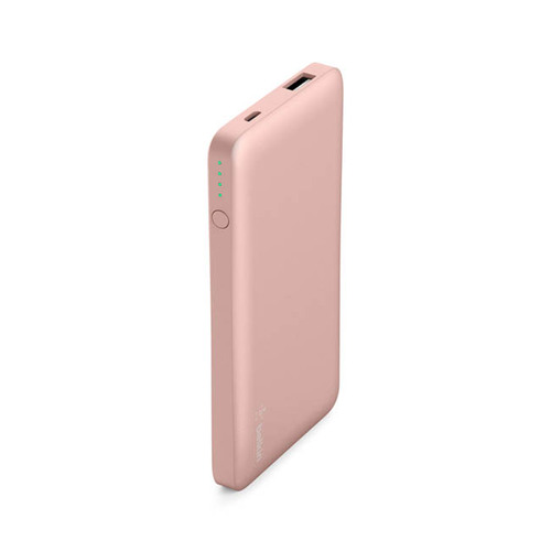 Belkin |Pocket Power 5K 超薄快充行動電源 (玫瑰金)