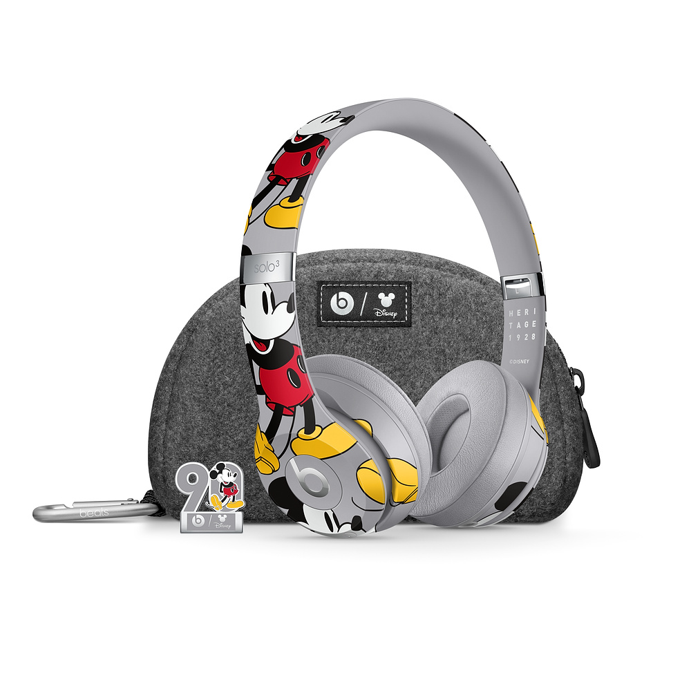 Beats|Solo3 Wireless 頭戴式無線耳機 - 米奇 90 周年紀念版(正公司貨)