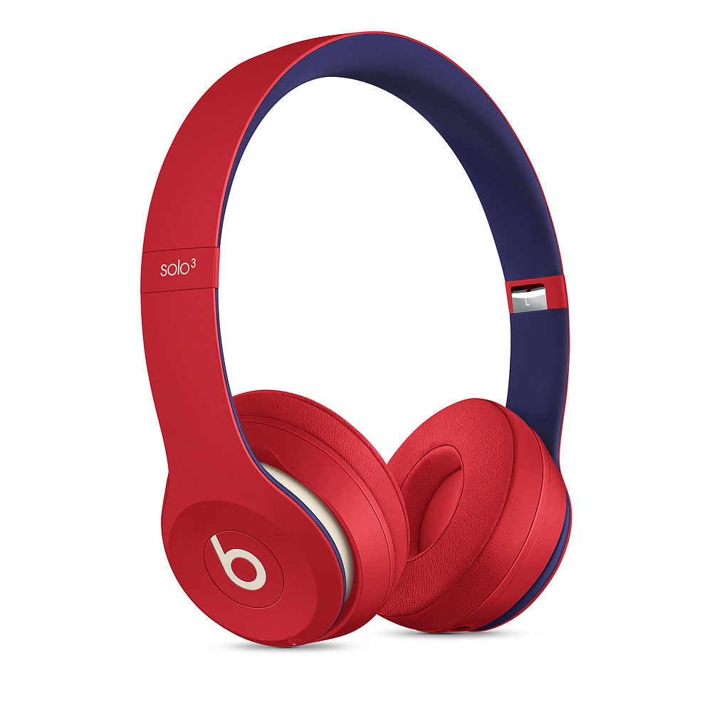 Beats|Solo3 Wireless 頭戴式無線耳機 - Club Collection 學院紅