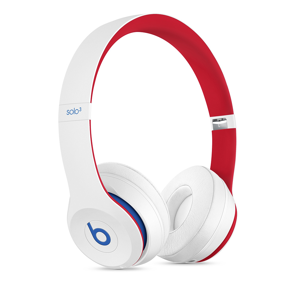 Beats|Solo3 Wireless 頭戴式無線耳機 - Club Collection 學院白