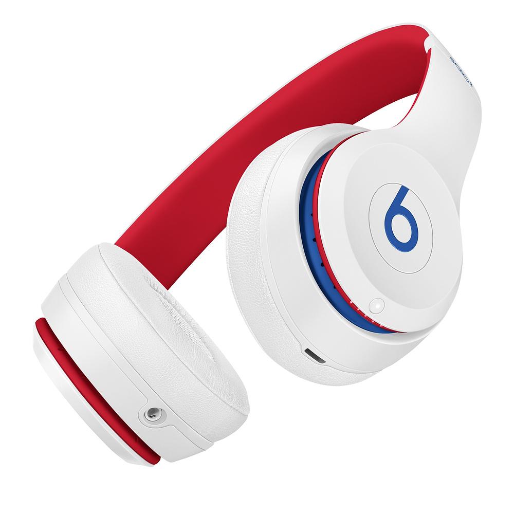 Beats|Solo3 Wireless 頭戴式無線耳機 - Club Collection 學院白