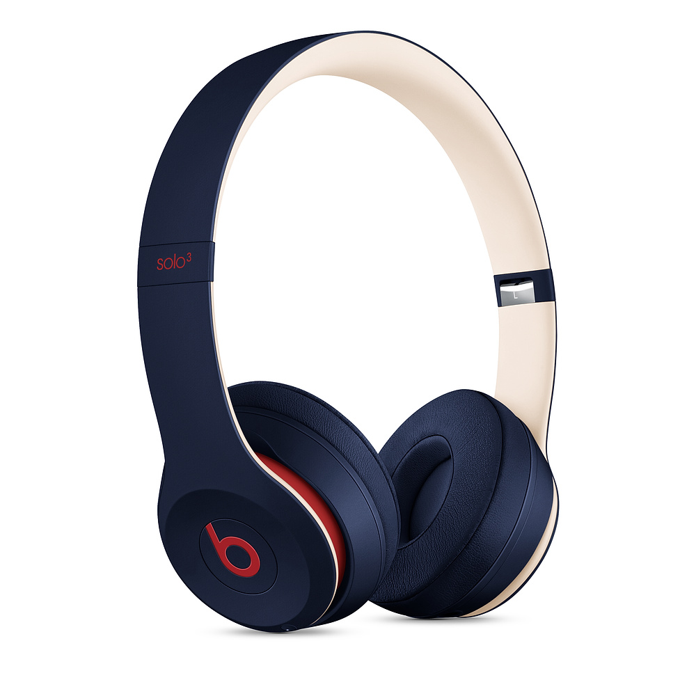 Beats|Solo3 Wireless 頭戴式無線耳機 - Club Collection 學院藍