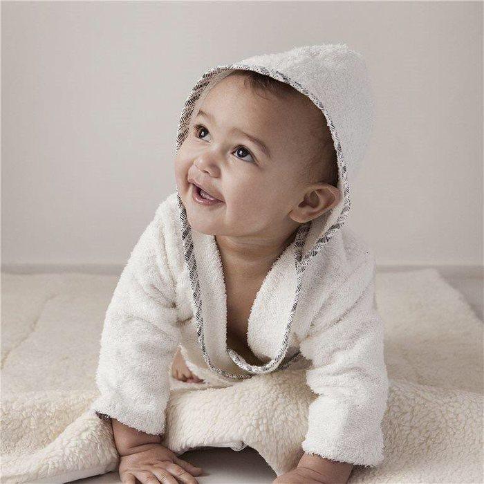 NANAMI | 寶貝浴袍 米白色 寶寶款