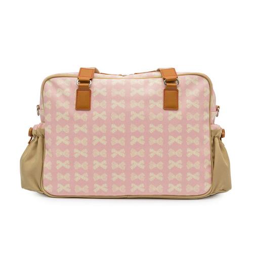 PINK LINING|粉紅蝴蝶結經典媽媽包系列-口袋款