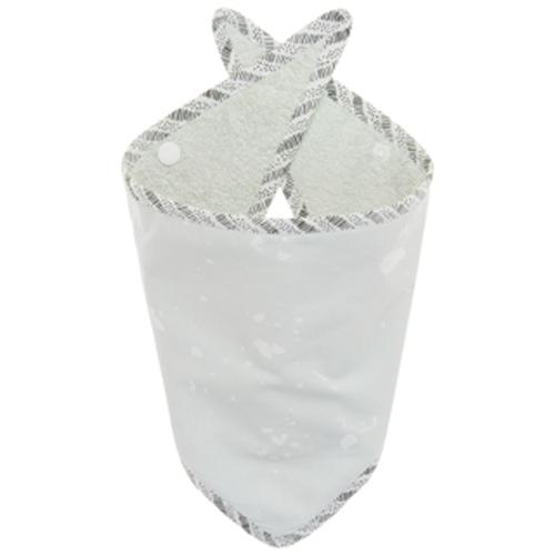 NANAMI  | 雙面純棉三角領巾