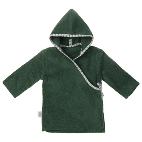 NANAMI | 寶貝浴袍 深綠色 寶寶款